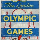 Photo:Front cover of souvenir programme for 1948 London Olympics